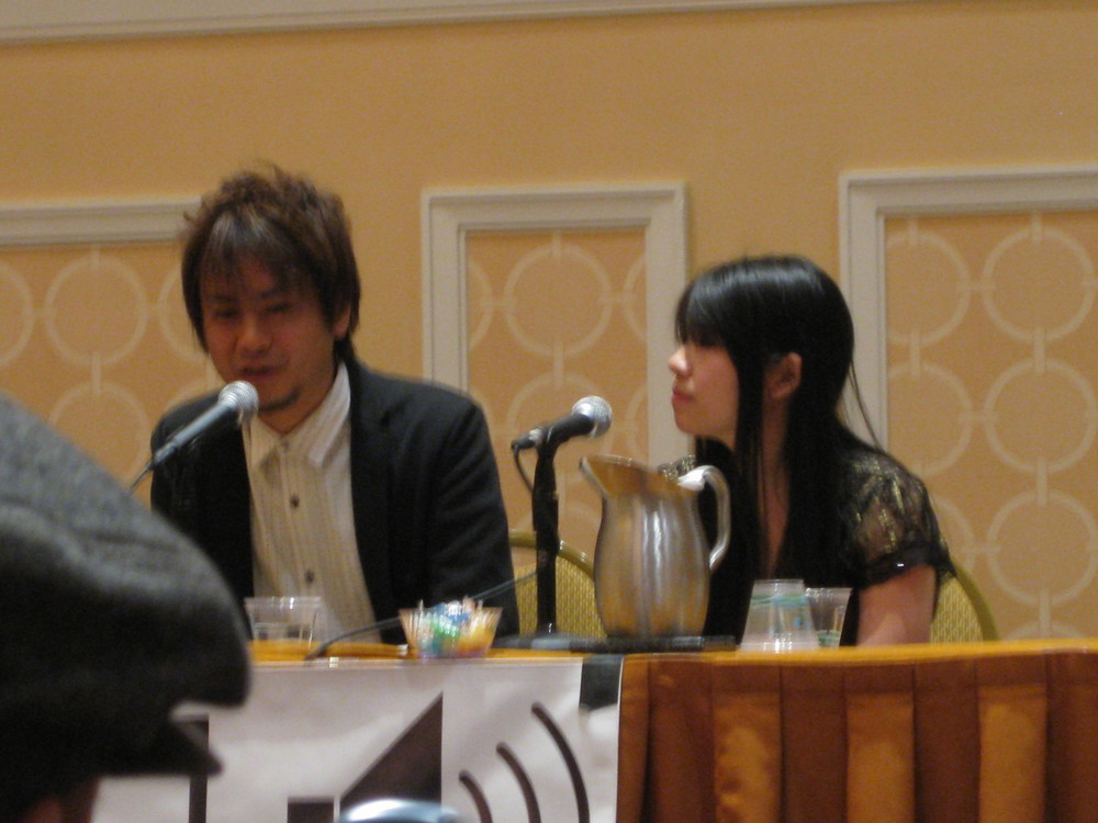 At the Yuzo Koshiro Q&A