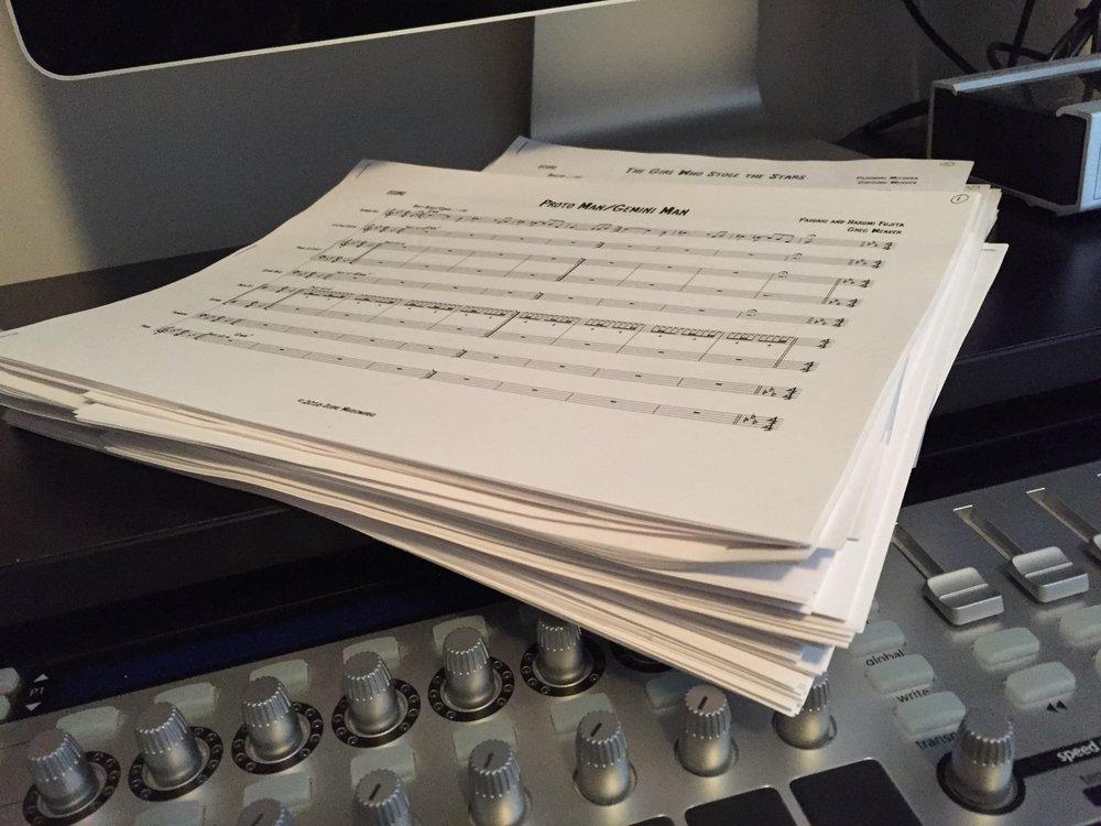 Freshly printed scores! #spoileralert