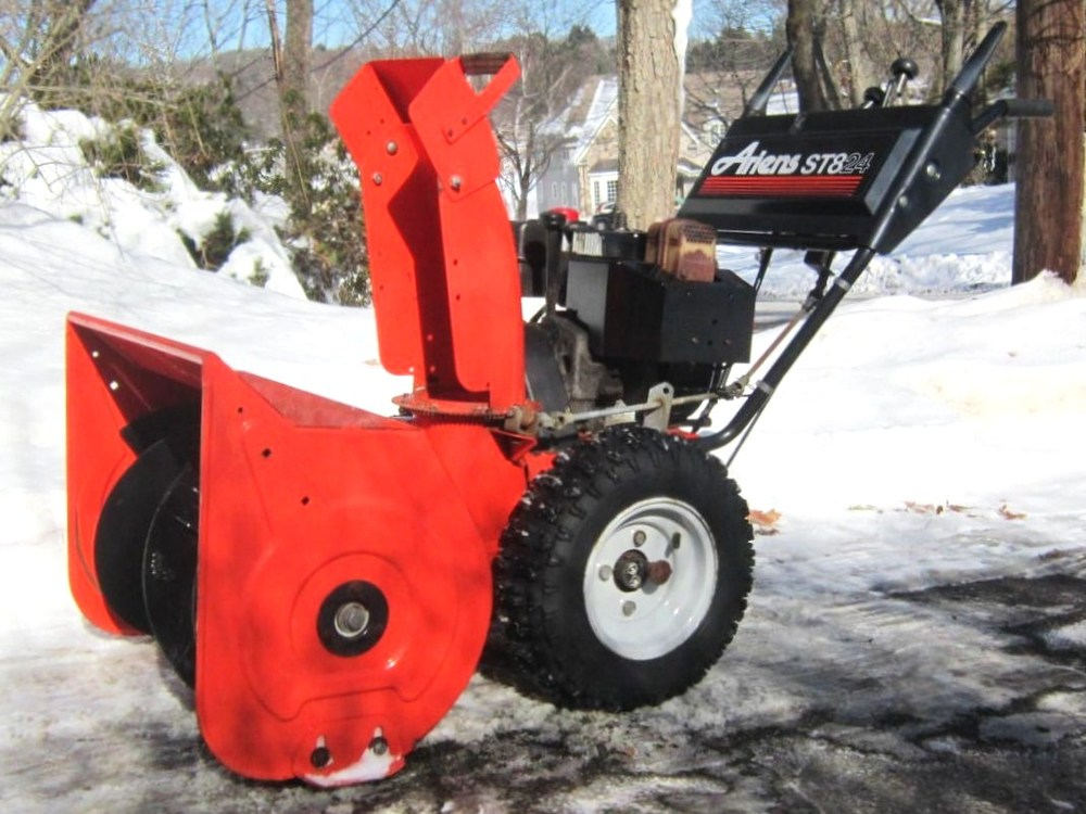 how to start ariens compact 24 snowblower