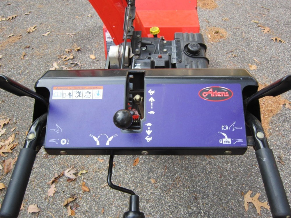 Early-2000s Ariens 824 Classic #932101 - Dash with Blue Decal