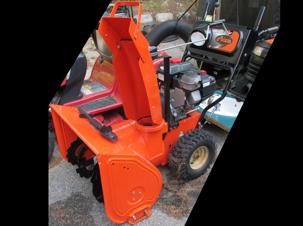 Late-2000s Ariens Deluxe 27 #921012