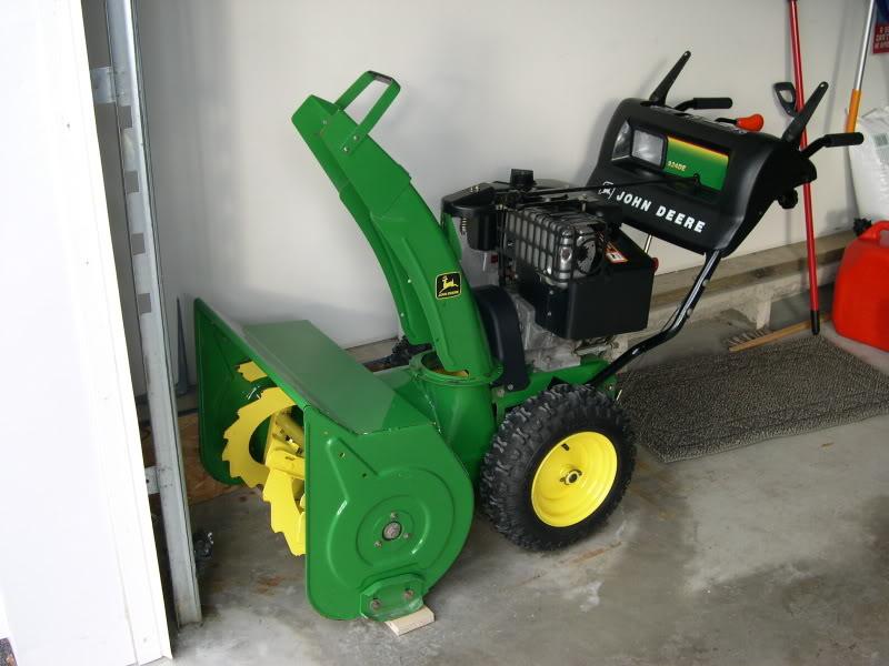 green machine snowblower