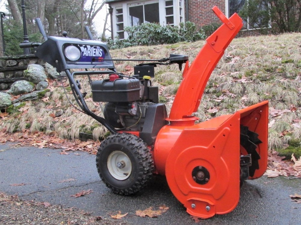Ariens 824: Right Front