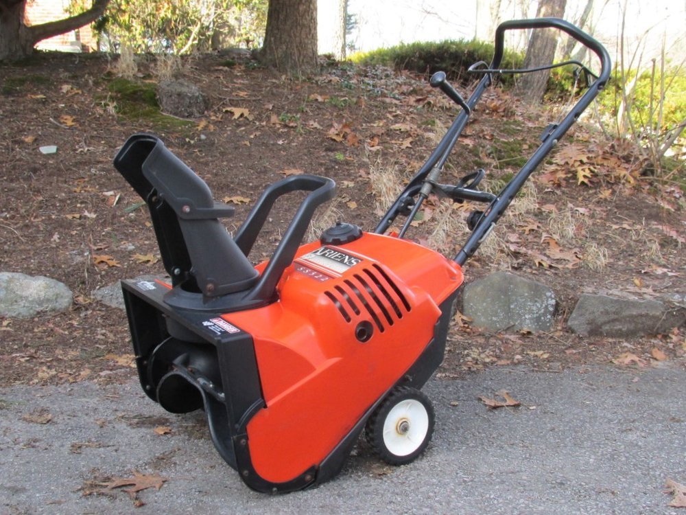 Ariens SS522: Left Front