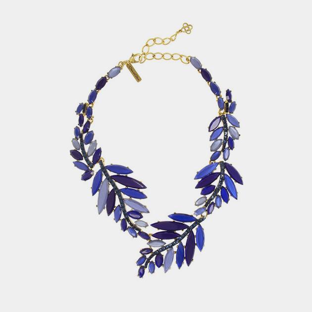 Oscar-De-La-Renta-Crystal-Leaf-Necklace-Maison-Mittweg
