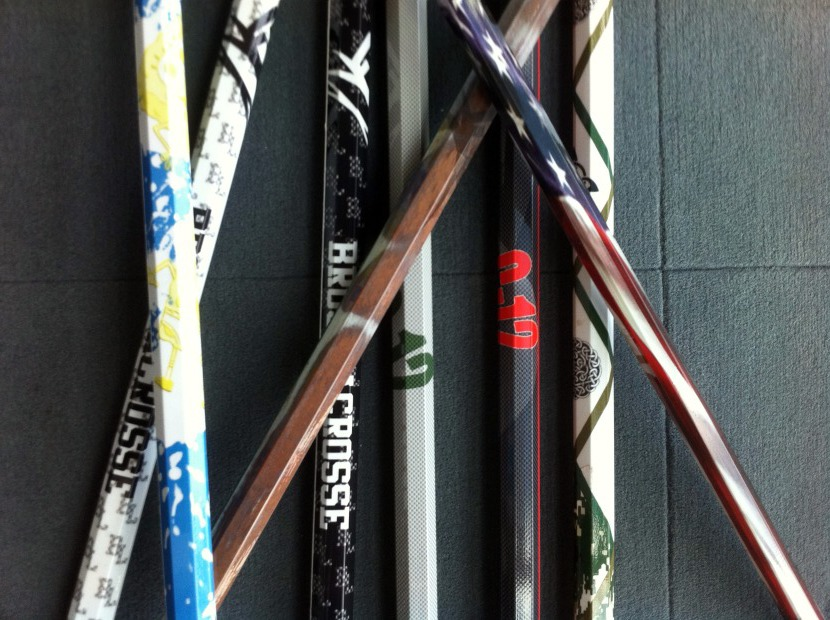 C-12 Lacrosse's seemingly unbreakable shaft technology