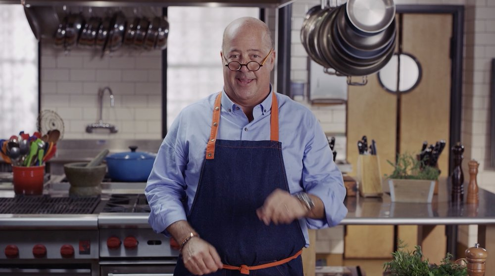 Andrew Zimmern - Cooking Essentials Promo