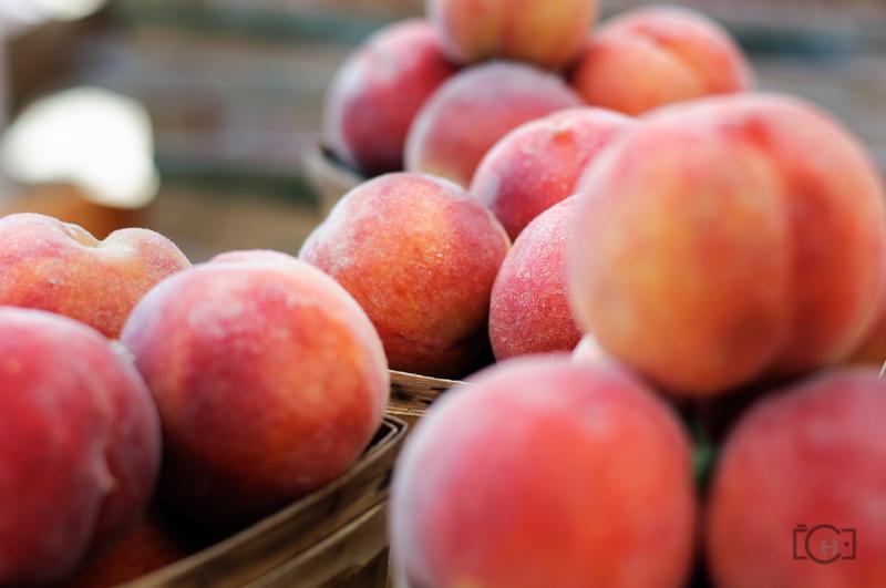 Peaches at Eastern Market, Detroit