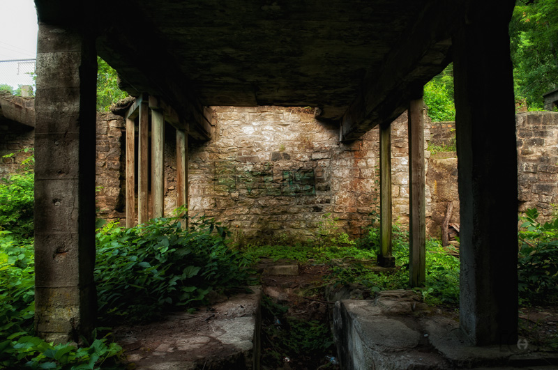 Basement of Darnley Grist Mill, Hamilton