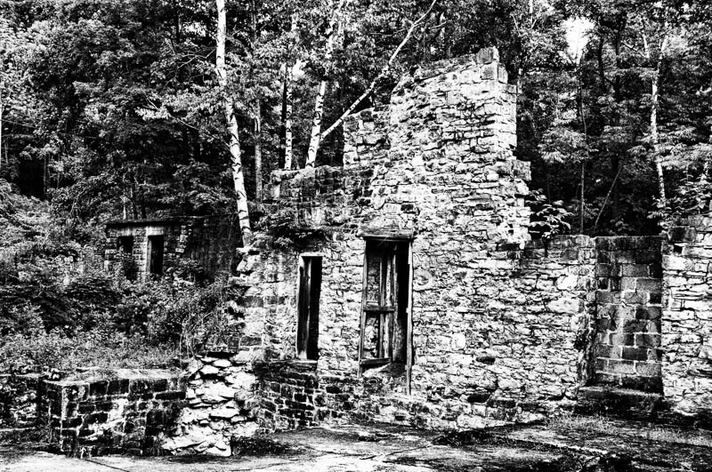 Ruins at Darnley Grist Mill, Hamilton