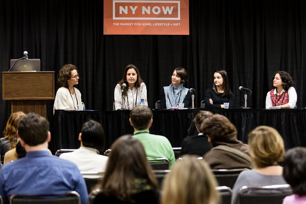 "NY NOW Market, Panel Discussion ""The Future of Handmade"", 07 February 2017"