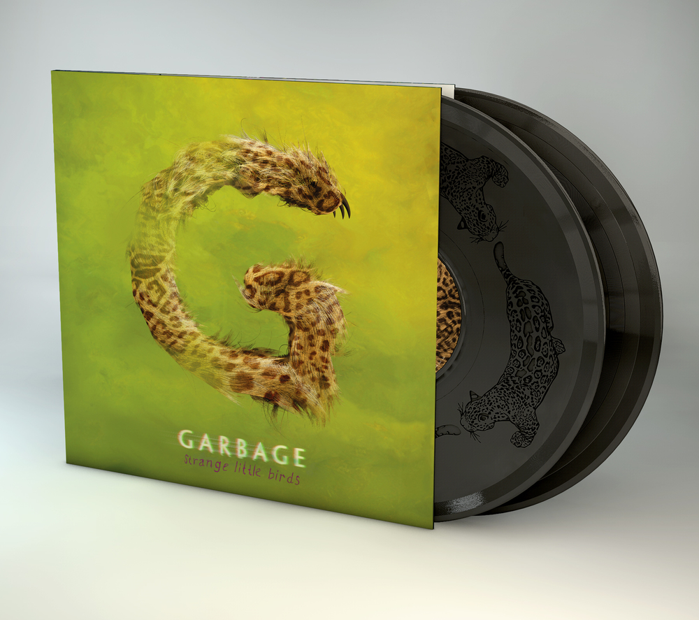 Deluxe vinyl featuring side 4 etching artwork