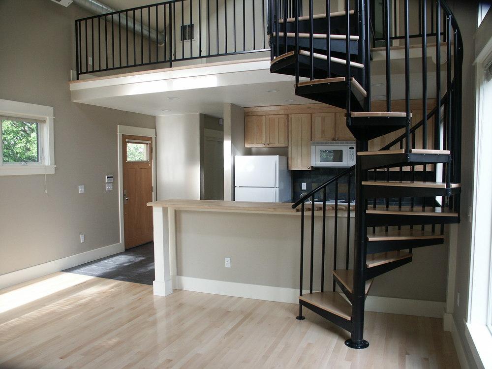 upstairs unit kitchen