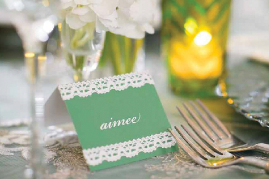 Designed by Catherine Fitzpatrick for A Perfect Event