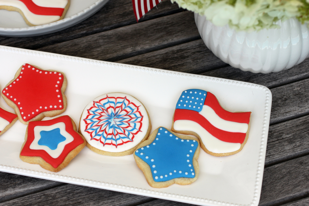 The adorable and delicious 4th of July Cookies by Caitlin were also a huge hit. They taste even better than they look.