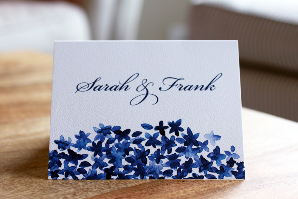 Custom thank you notes by the Charm Studio.