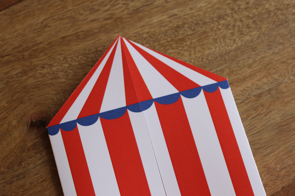 Circus Party Invites #CircusTentInvite #The CharmStudio