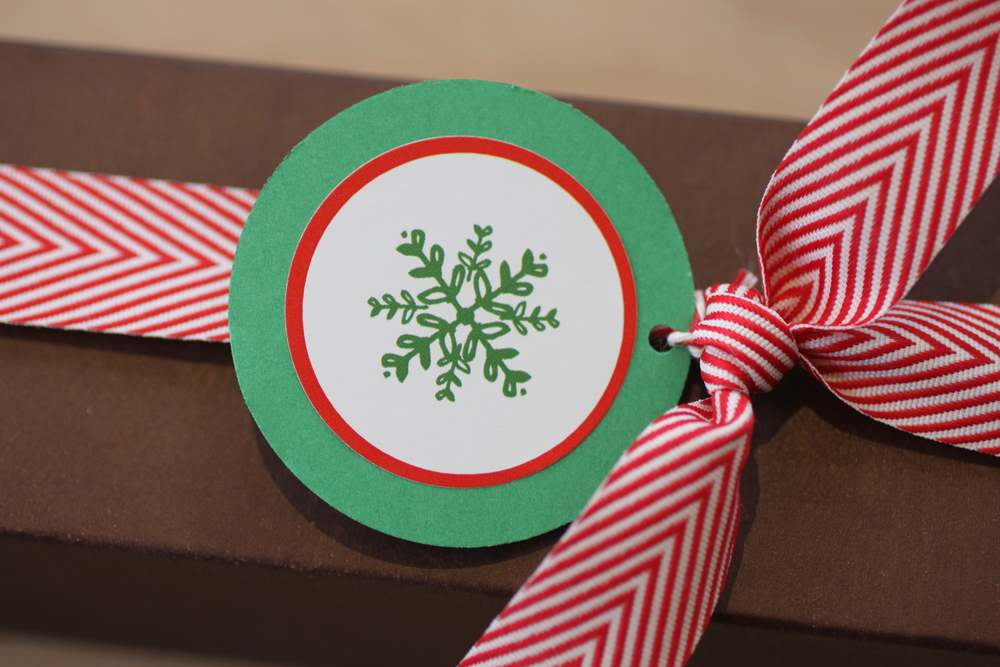 Mix & Match Gift Tags by The Charm Studio, Macaroon Box from Delightful Pastries