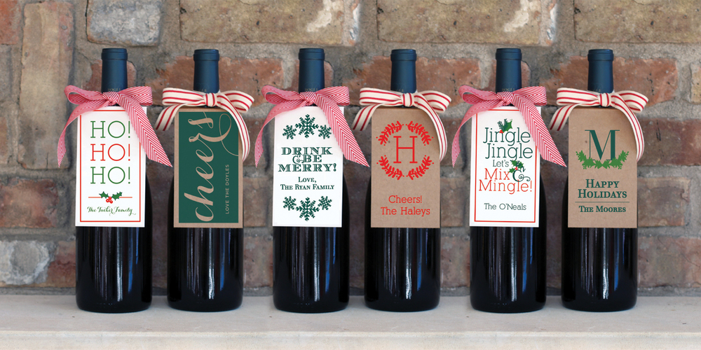 Custom Wine Tags by The Charm Studio