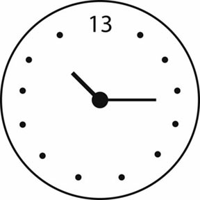 Paterson 13 Hour Clock