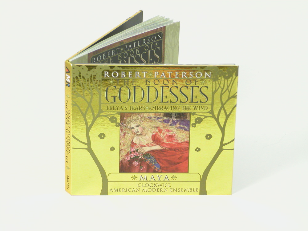 The Book of Goddesses CD - Package