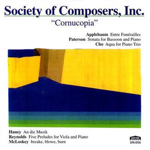 Society of Composers, Inc. (SCI) – Cornucopia