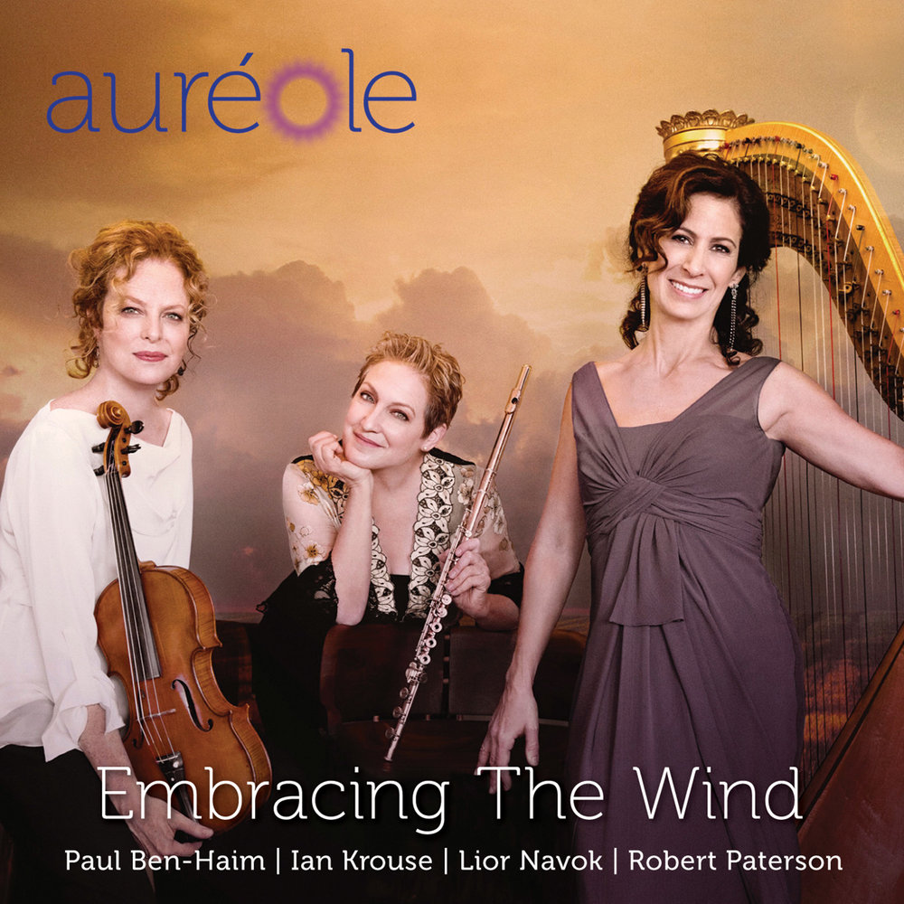Front cover for Aureole's latest album on the  American Modern Recordings  (AMR) label.