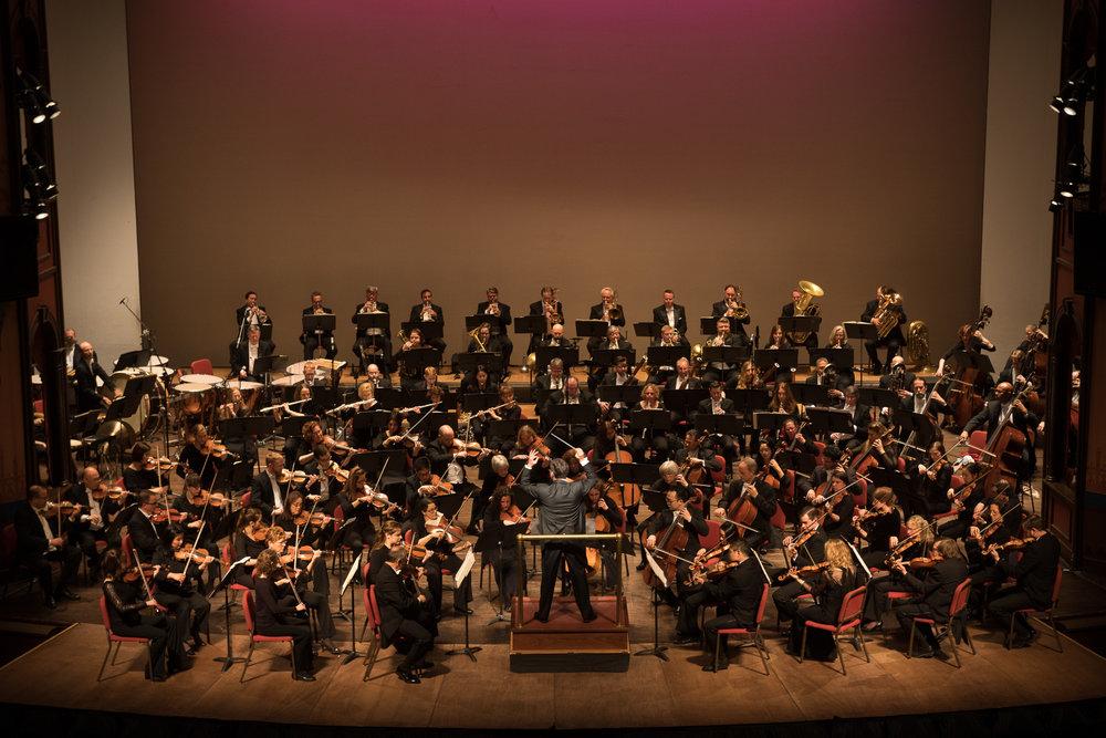 Delaware Symphony Orchestra. David Amado, Conductor. Photo by Joe del Tufo, Moonloop Photography