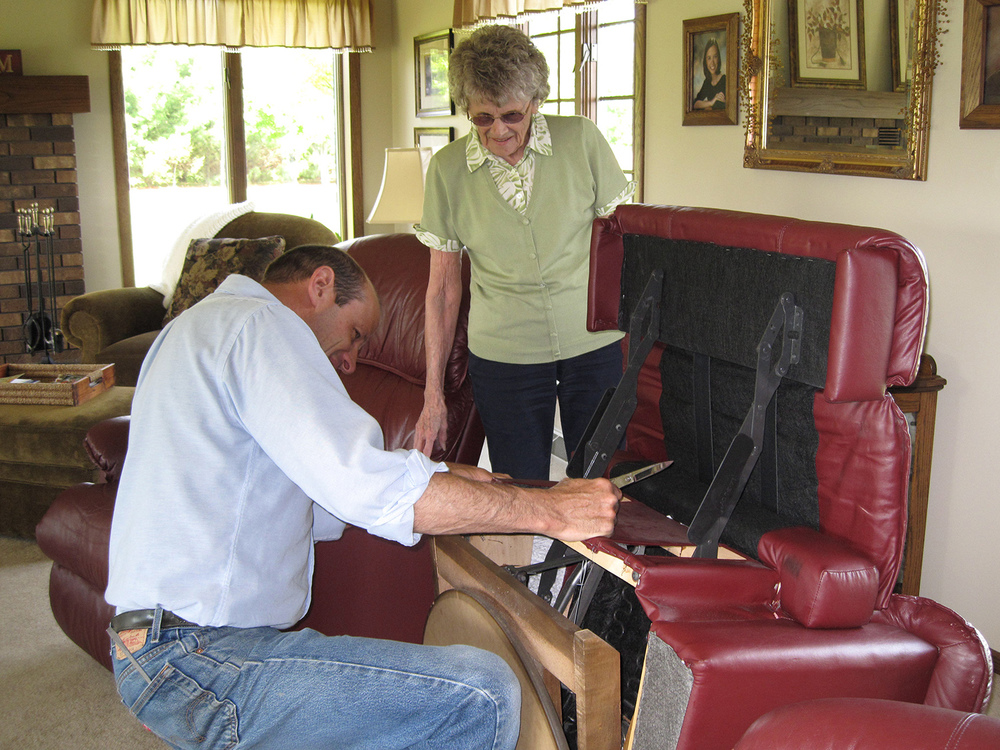 John Buehler has over 35 years of experience in the areas of  furniture repair  and service.
