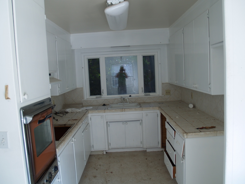 The original kitchen in our Rockridge remodel