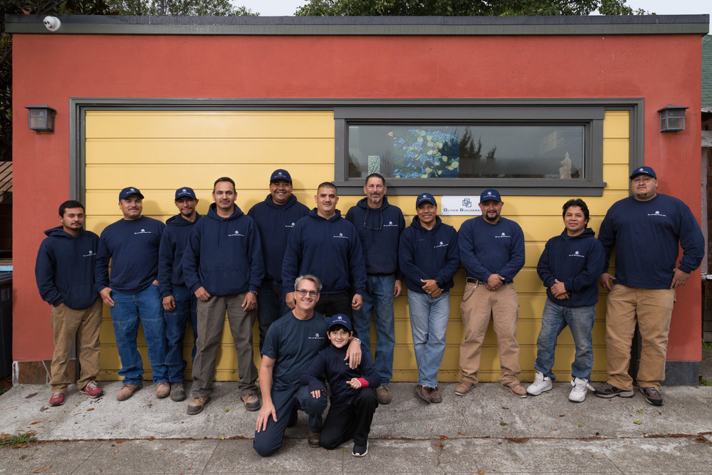 Oliver Builders crew 2016
