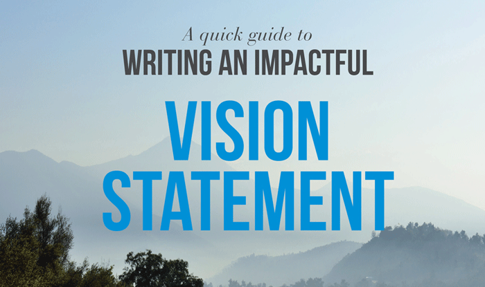 How to write an impactful vision statement