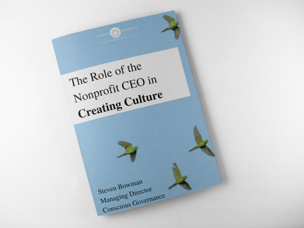 The Role of the Nonprofit CEO in Creating Culture