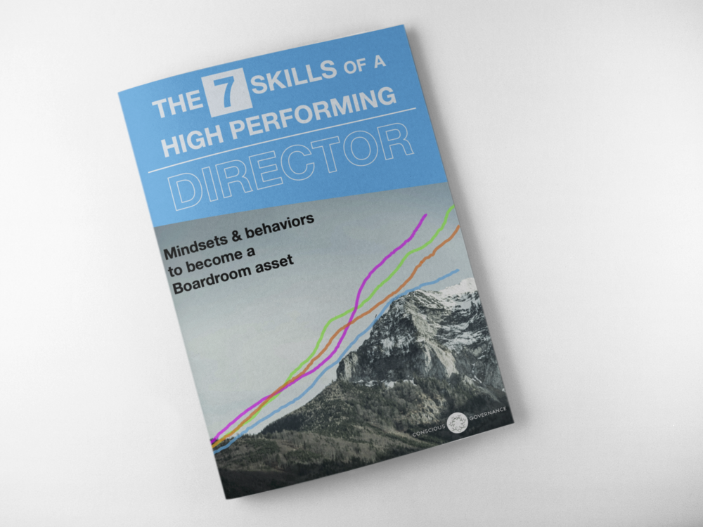 The 7 Skills of a High Performing Board Member