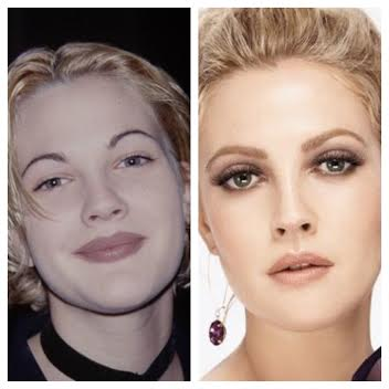 Drew Barrymore's brow transformation shows how much our brows affect the overall look of our face!