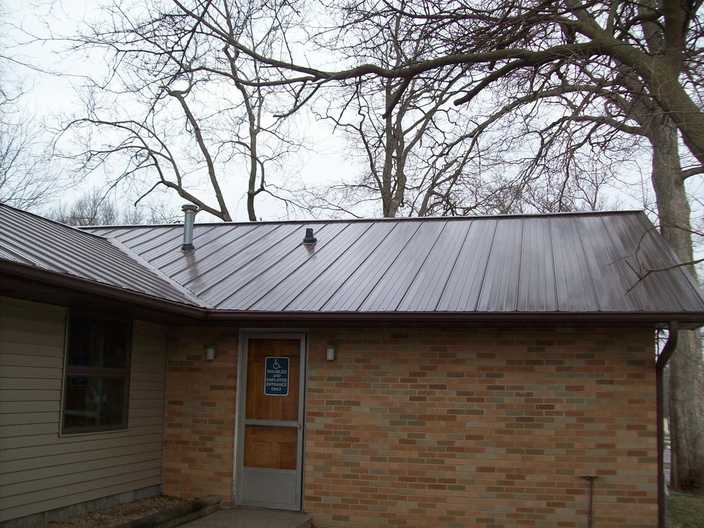 "After Picture - 3/4"" Standing Seam Metal"