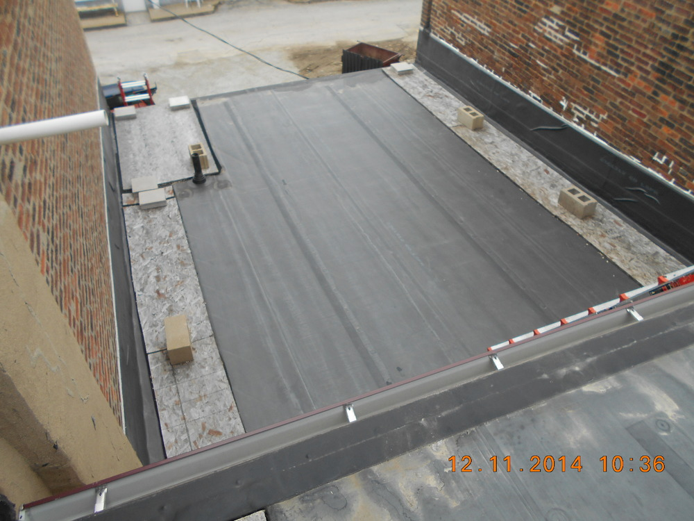 After Picture - EPDM Roofing