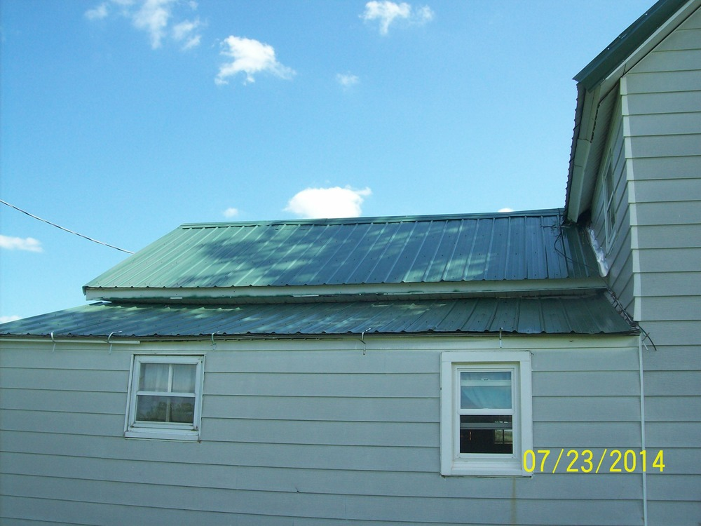 "Before Picture - 29 ga. 3/4"" Rib Metal Roofing"
