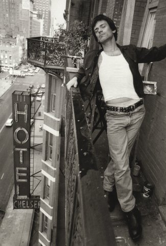 Some photos featured in the book: Dee Dee Ramone (Photograph by Keith Green)