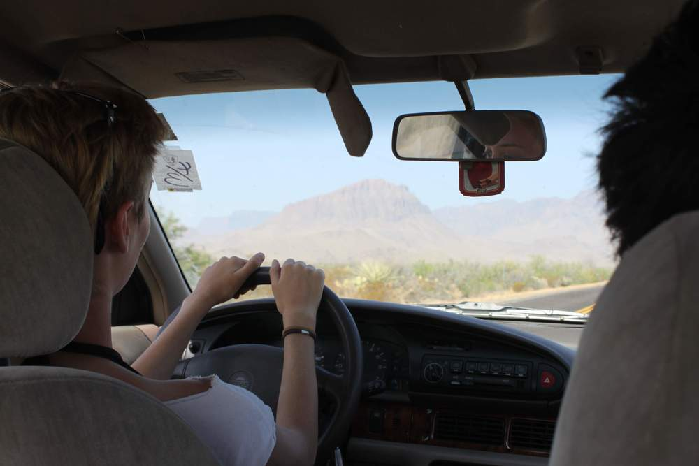 Driving to Big Bend