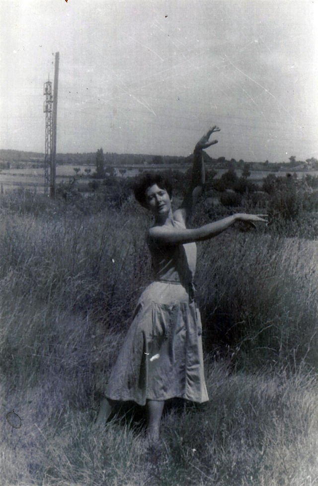 Denise Levertov.  Photographer unknown, provided by Jan Wallace.