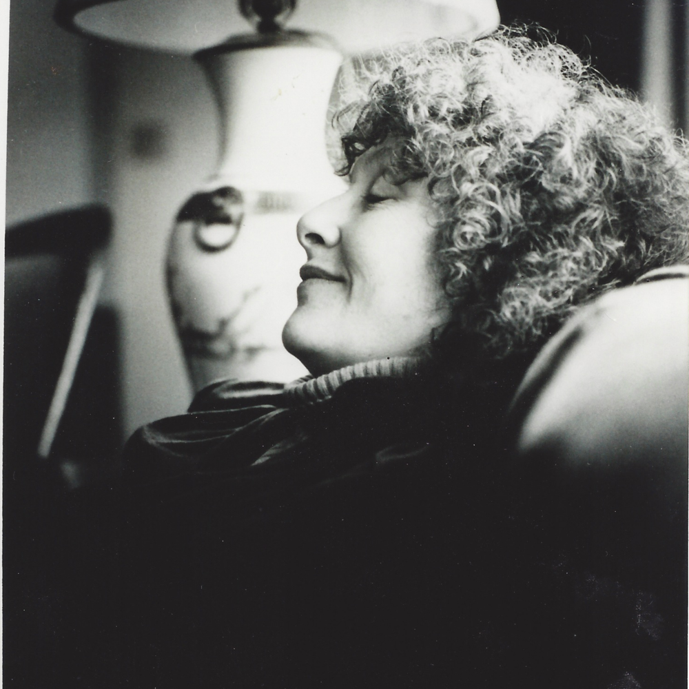 Denise Levertov.  Photograph from book dust jacket cover published by Academy of American Poets.  Provided by Jan Wallace.