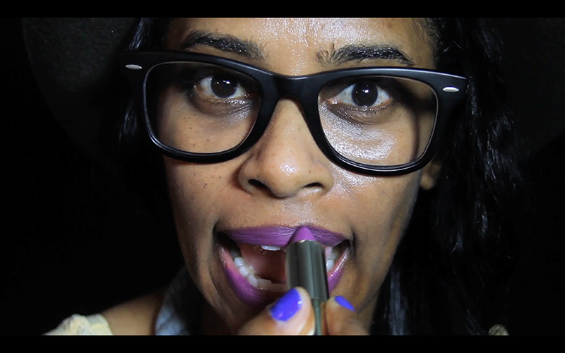 Tameka Norris.  Still from her newest video, Recovery.
