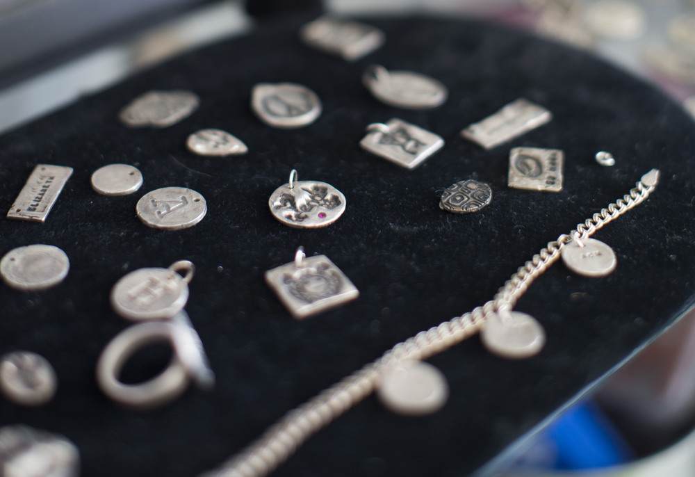 Make your own silver jewelry charms
