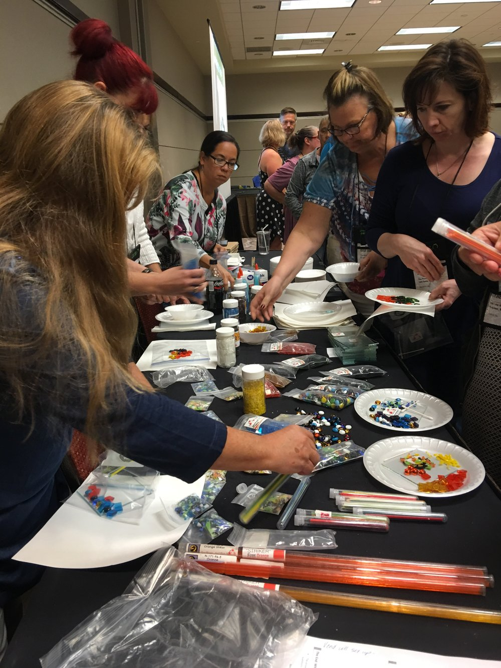 Glass Class for studio owners.