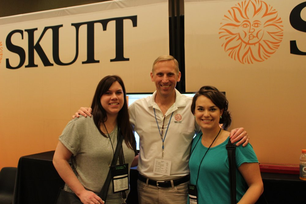With our favorite Kiln Manufacturer, Jim Skutt.
