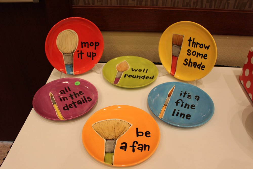 How clever are these Punny Plates?!