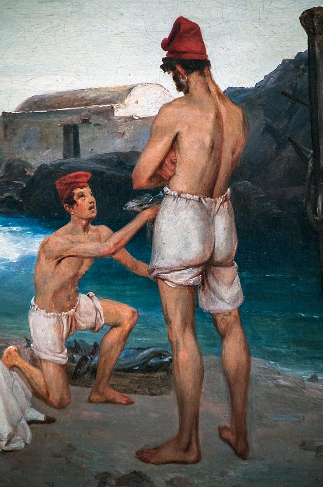 'Fisherman on Capri,' Carl Blechen, 1891