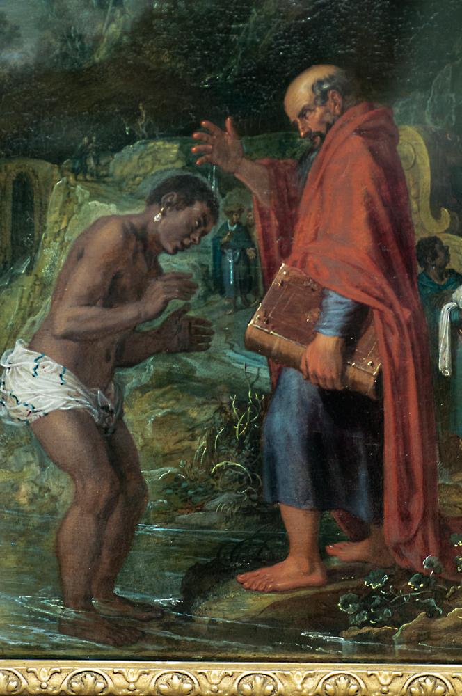 'Die Taufe des Kämmerers,' Pieter Lastman, 1608