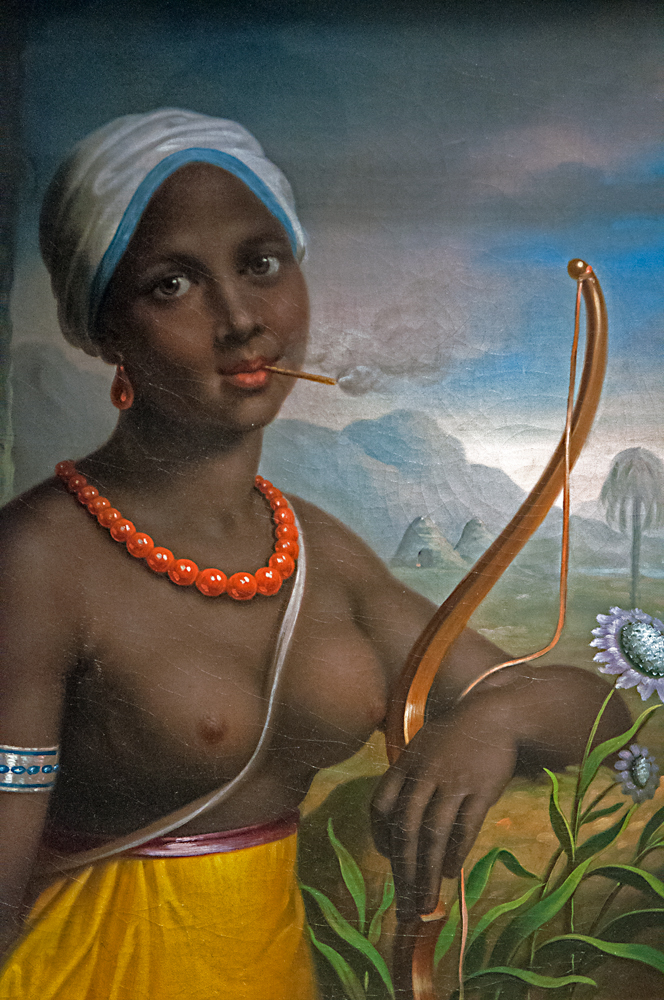 Black woman from the Amazon